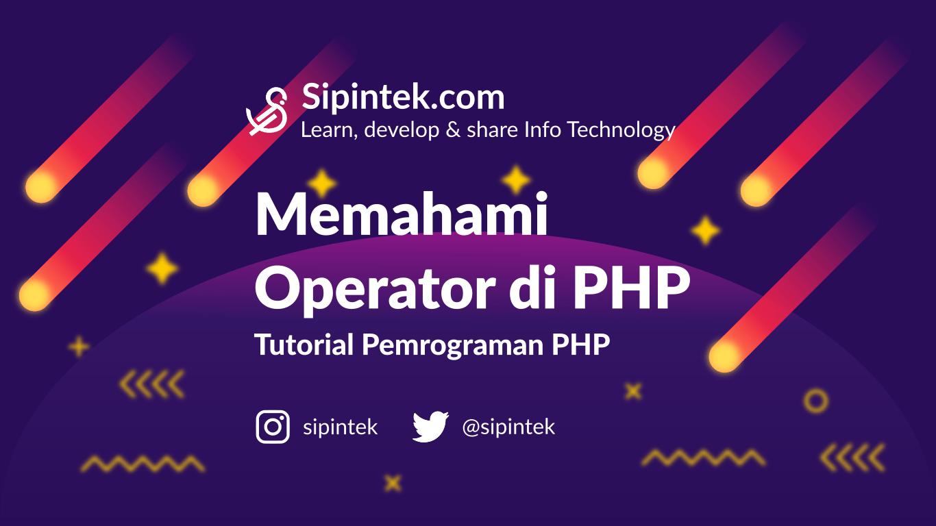 operator di pemrograman php