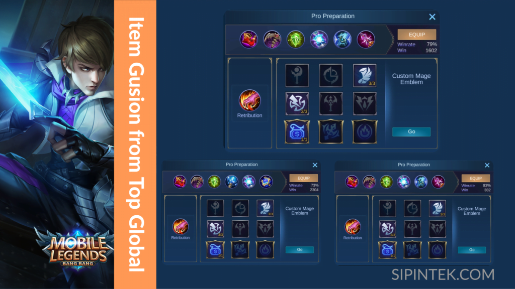 item terkuat gusion oleh top global mobile legend