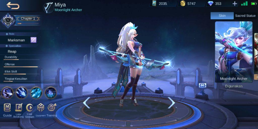Gambar Hero Miya Mobile Legends