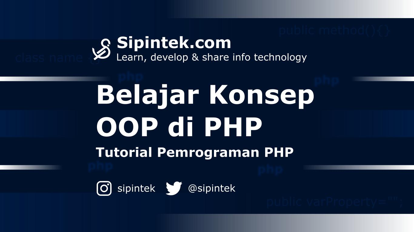 Gambar Memahami OOP di PHP