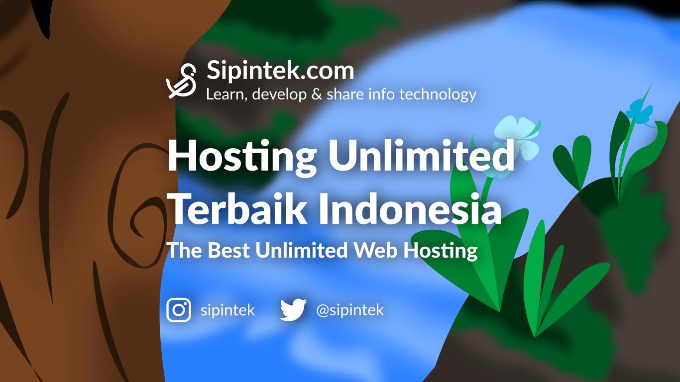 Gambar Hosting Unlimited Terbaik Termurah, WordPress Indonesia