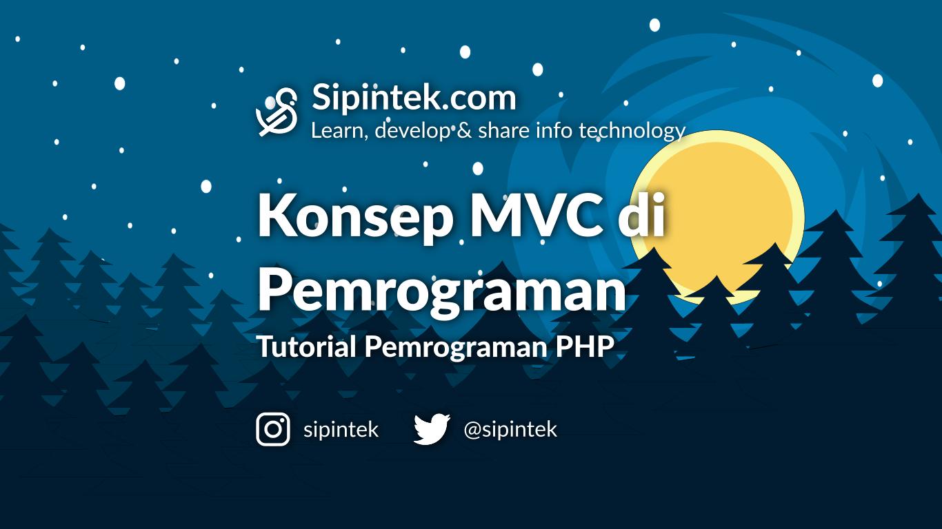Gambar Penjelasan MVC Dalam Pemrograman Web PHP