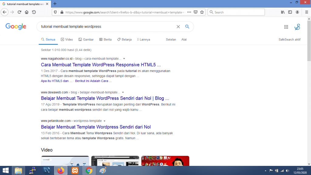 Gambar hasil pencarian dengan Google