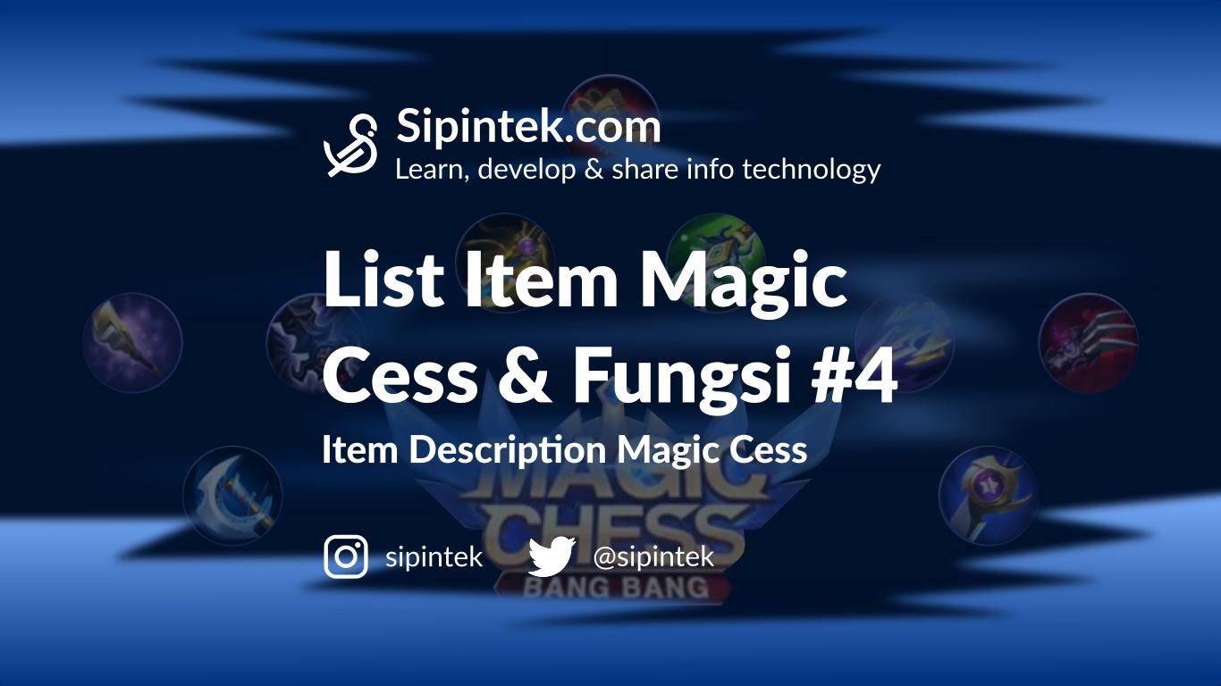 Gambar Daftar Item Magic Chess dan Kegunaannya di Season 1 #4