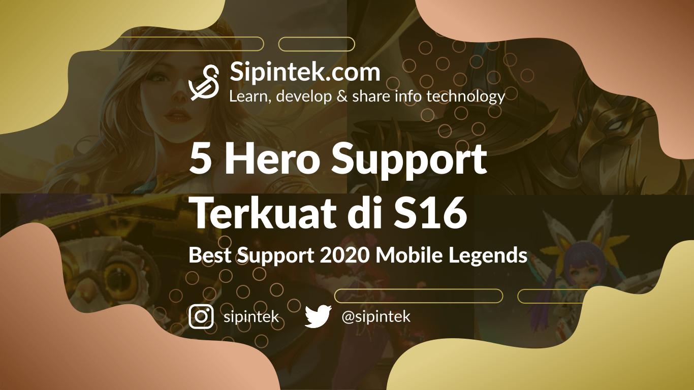 Gambar Hero Support Terkuat di Season 16 2020 Mobile Legends