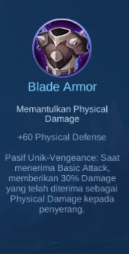 Gambar Item Blade Armor Magic Cess