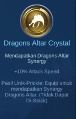 Gambar Item Dragons Altar Crystal di Majic Cess s2