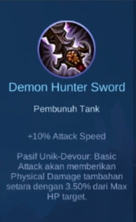 Gambar item Demon Hunter Sword Magic Cess