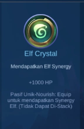 Gambar Item Elf Crystal di Majic Cess s2
