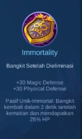 Gambar Item Immortality Magic Cess