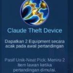 Gambar Item Claude Theft Device di Majic Cess s2
