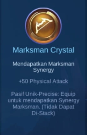 Gambar Item Marksman Crystal di Majic Cess s2