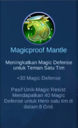Gambar Item Magicproof Mantle Magic Cess
