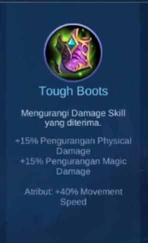 Gambar Item Tough Boots Magic Cess