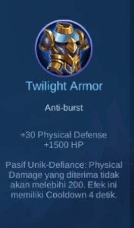 Gambar Item Twilight Armor Magic Cess