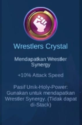 Gambar Item Wreslers Crystal di Majic Cess s2