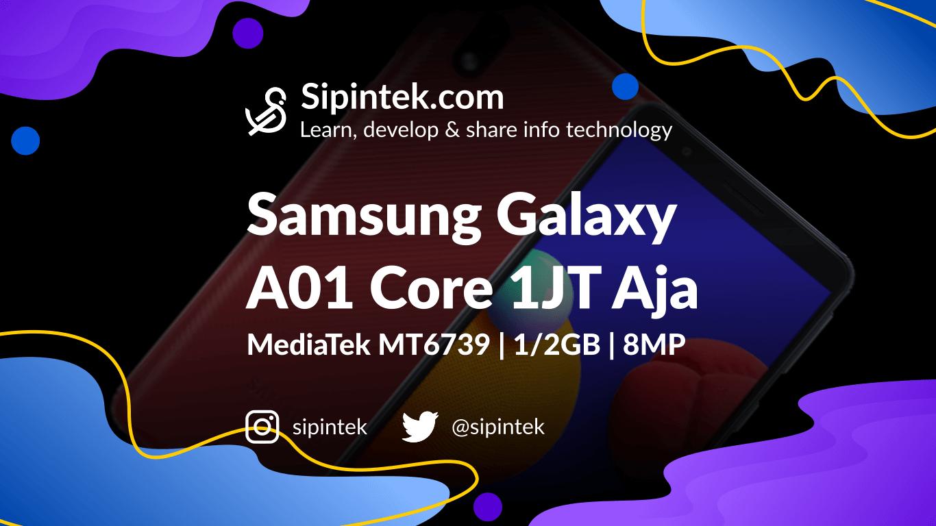 Gambar Spesifikasi Samsung Galaxy A01 Core 1 Jutaan Termurah