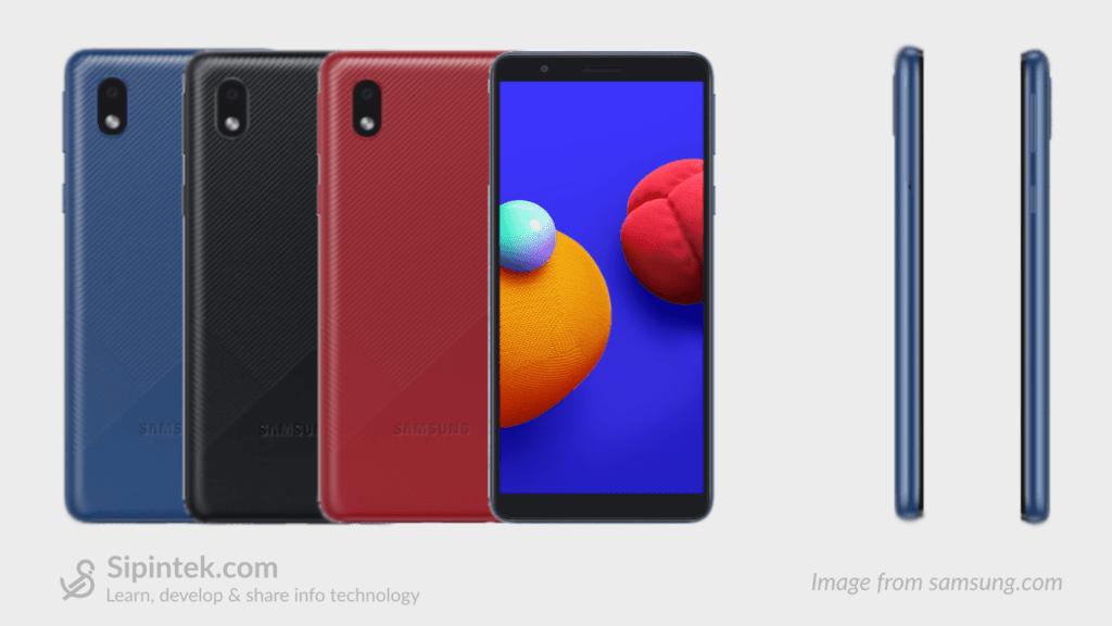 Gambar Tampilan Samsung Galaxy A01 Core