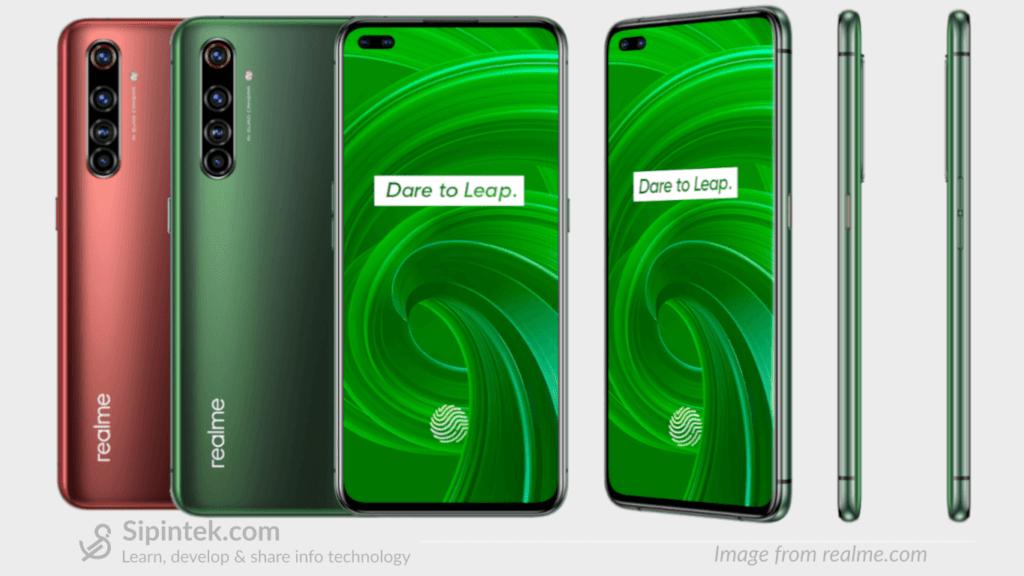 Gambar Tampilan Desain Realme X50 Pro 5G