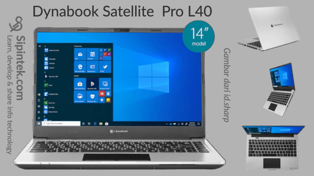 Gambar Tampilan Laptop Dynabook Satellite Pro L40