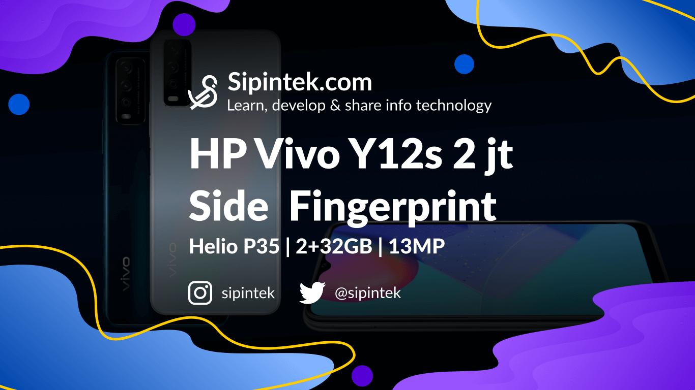 Harga Vivo Y12s dan Spesifikasi Lengkap
