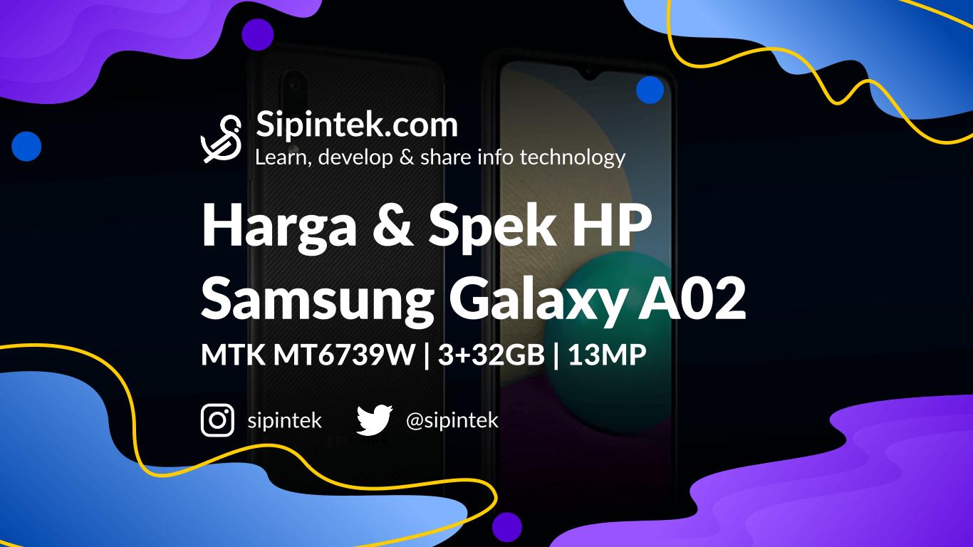Gambar Harga dan Spesifikasi Lengkap Samsung Galaxy A02
